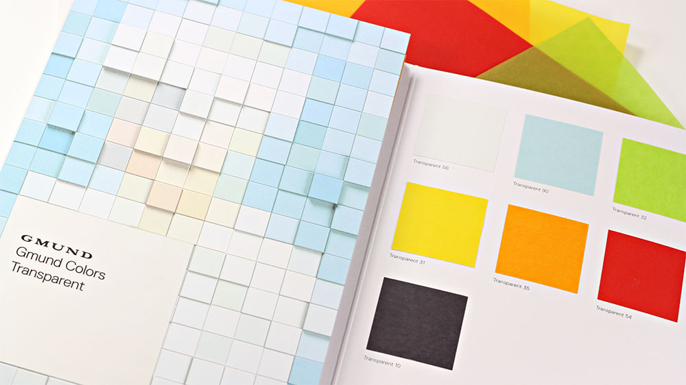 Order your Gmund Colors Transparent Swatch Book from LCIPaper.com.