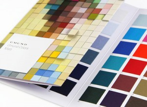Gmund Matt Colors at LCI Paper