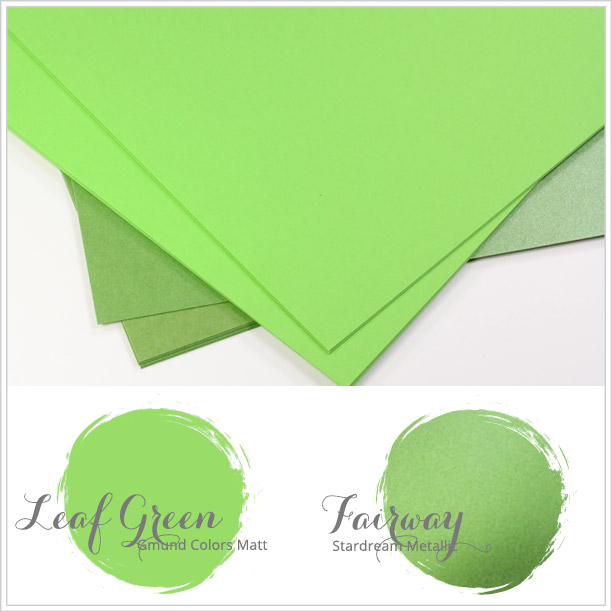 Close paper matches to Spring 2016 Pantone color Green Flash
