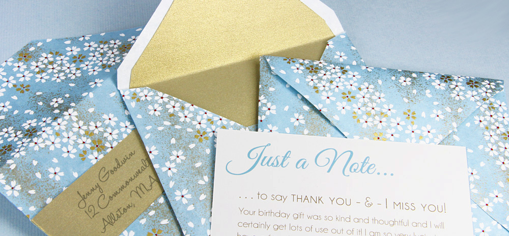 Make Your Own Patterned Envelopes-Templates & Instructions!