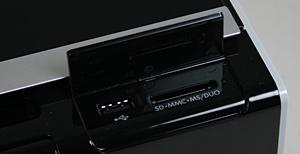 HP Envy 100 memory card slot