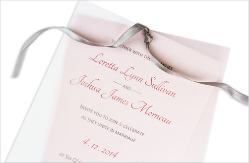 invitation pink vellum overlay 5 vellum wedding invitation ideas you can do,Vellum Invitations