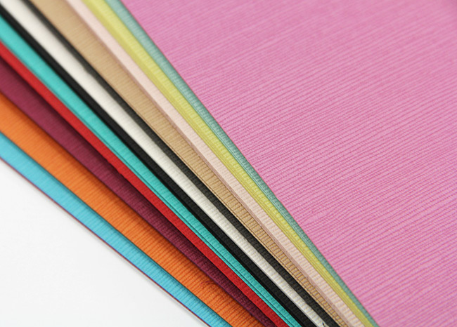 Close up of Japanese Linen card stock texture