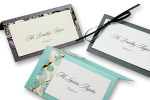 designer place cards each made by me