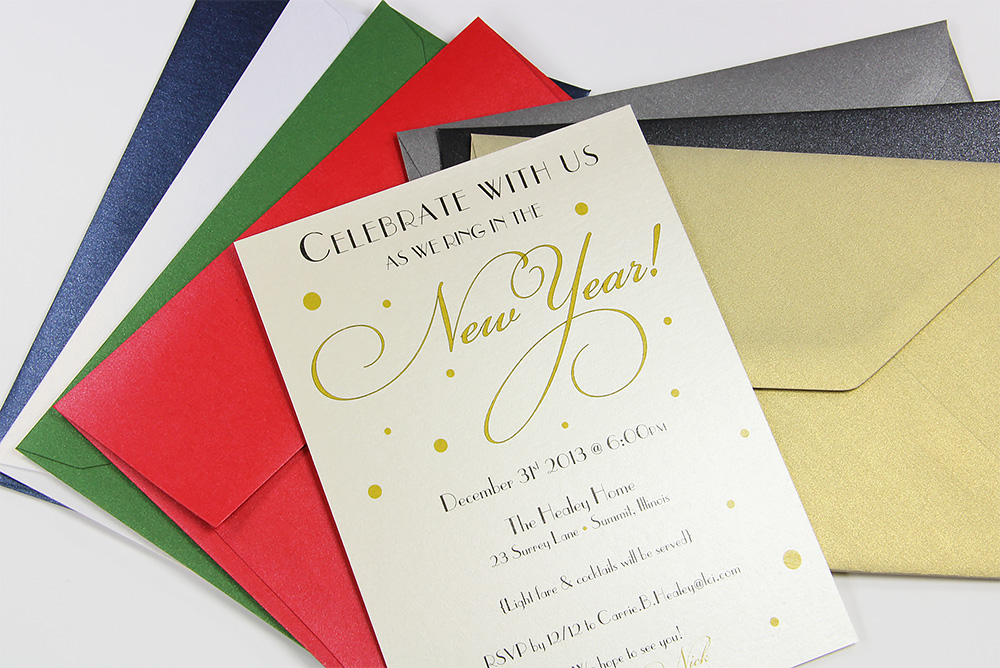 top 3 holiday envelope  card ideas time to think festive