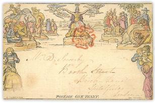Mulready Envelope