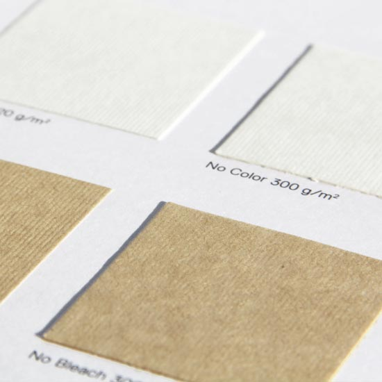 No Color,  No Bleach Organic Paper in 2 natural colors