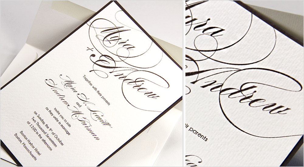 Top 3 Textured Card Stock Papers For Wedding Invitations