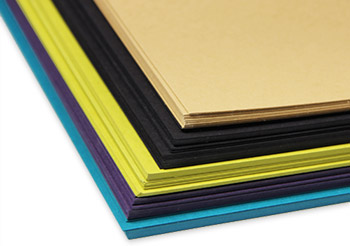 Heavyweight matte finish Gmund colors paper