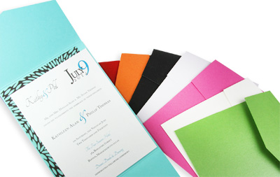 invitation pockets