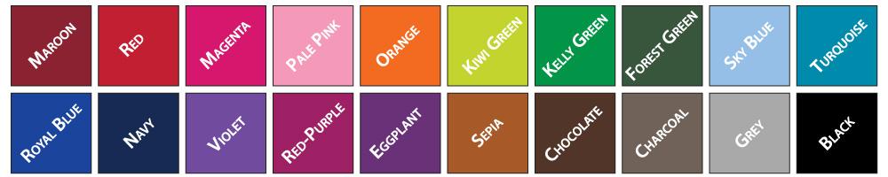 LCI Printing Colors