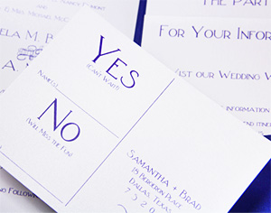3 Ideas On How RSVP Cards Make Wedding Pocket Invitations