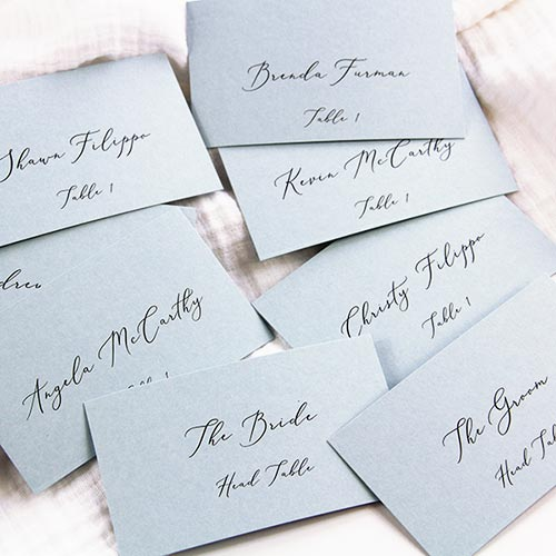 graphic regarding Free Printable Wedding Place Cards identified as Flat Position Playing cards within just 5 Uncomplicated Actions Cost-free Destination Card Template