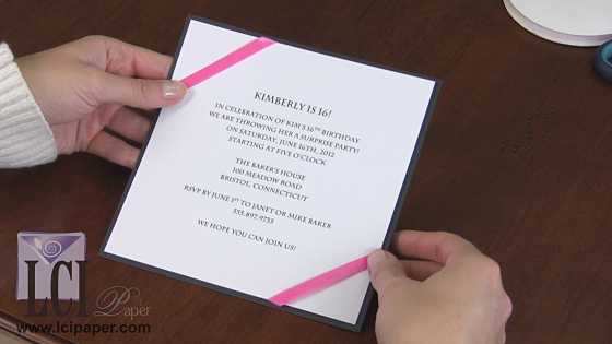Creative Ways to Use Ribbon to Decorate an Invitation
