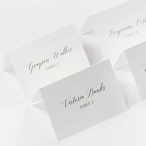 Easy print seating cards for weddings, parties, corporate events