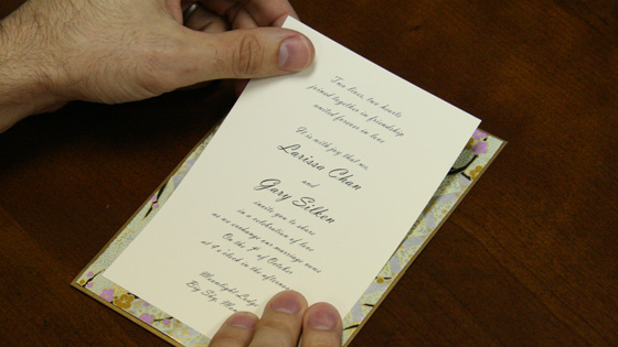 How To Make an Ornate Layered Pocket Card Invitation – Make Invitation Card