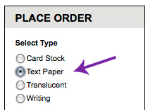 select text weight sheet