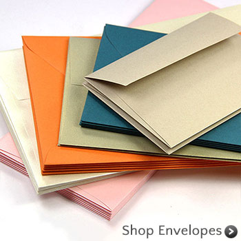 Shop invitation envelopes in hundreds of colors, finishes, sizes. Order blank or addressed and printed from LCI Paper