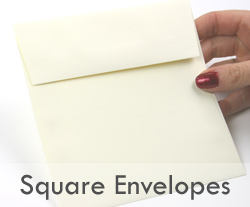Square Envelope Ecru