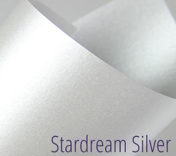 stardream silver metallic paper