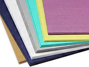 Textured paper - felt, wood grain, linen, and more