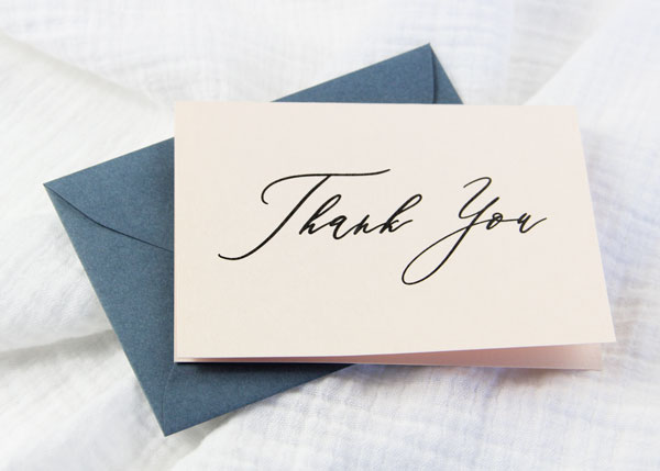 photograph about Free Printable Thank You Card Template referred to as Cost-free Printables - Uncomplicated 3 x 5 Folding Thank By yourself Playing cards