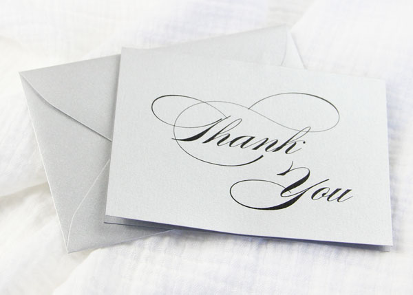 photo about Free Printable Thank You Card Template titled Free of charge Printables - Easy 3 x 5 Folding Thank Your self Playing cards