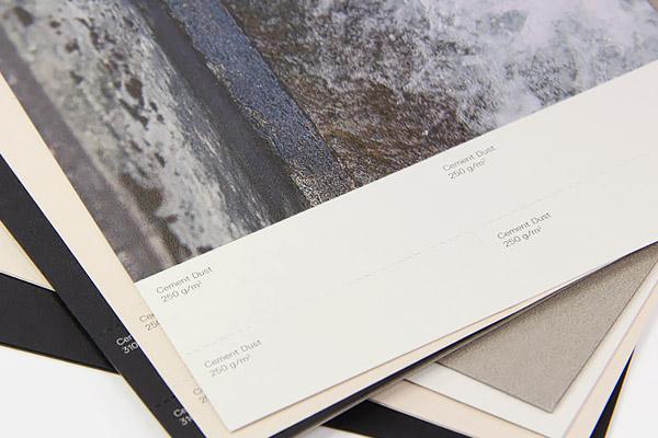 Gmund Urban Cement Dust printed offset