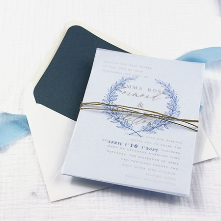 5 Best Vellum Wedding Invitation Design Ideas