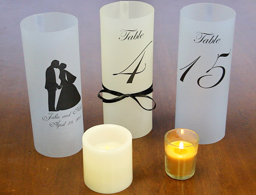 Translucent Vellum Luminaries