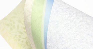 Translucent vellum paper rolled up