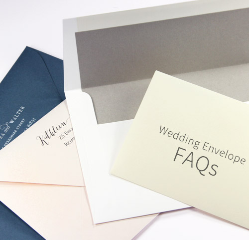 Wedding envelope FAQs, answered