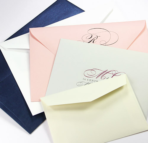 Choose The Right Size Wedding Envelope For Your Invitations