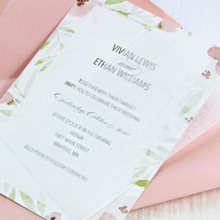 Why Tissue Paper Is Used In Wedding Invitations