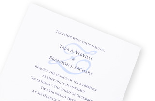 How To Print A Monogram On Your Wedding Invitation