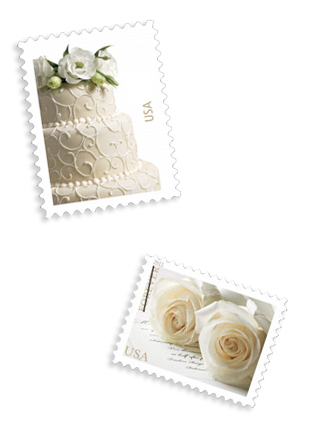 USPS wedding stamps