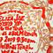 woodblock printed Bat Mitzvah invitations