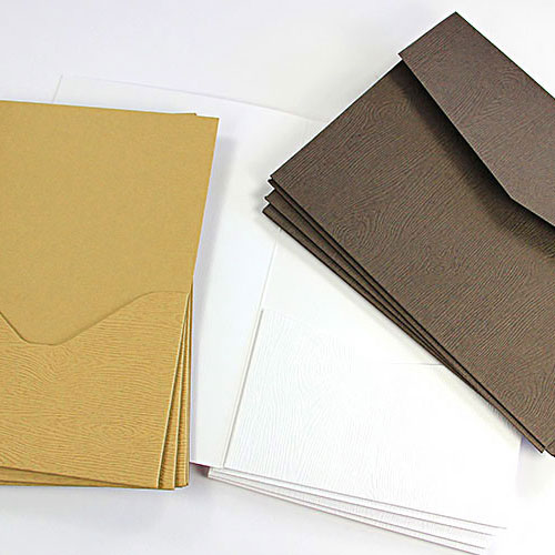 Pocket Invitations - Envelopes, Cards, Supplies