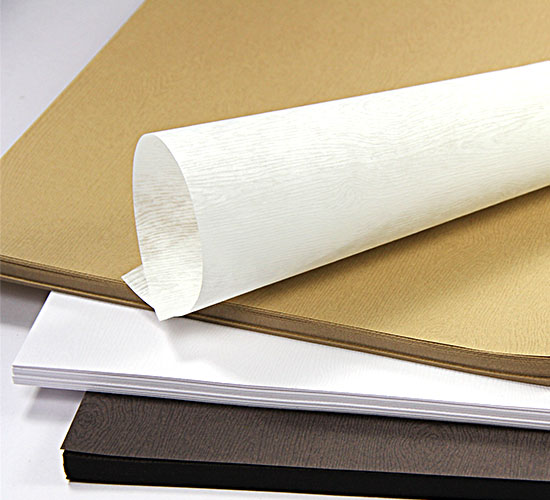 Wood Grain Text Weight Paper