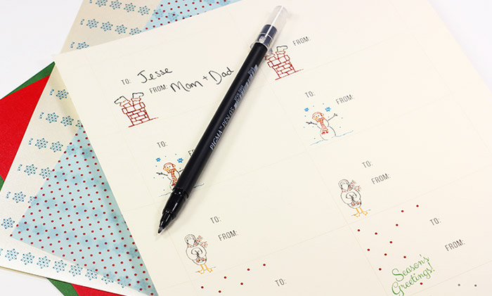 image relating to Free Printable Customizable Gift Tags named Totally free Printable Customizable Present Tags (No Reducing Needed!)