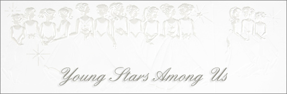 Young Stars Among Us Quinceañera invitation