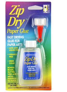 Zip Dry Ashesive