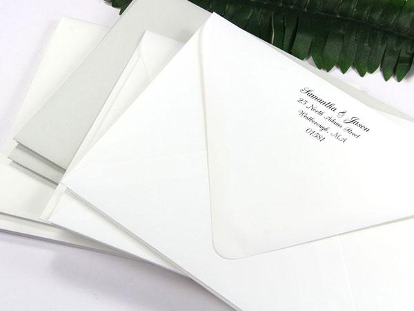 a7 gmund cotton wedding white envelopes euro flap 74t lci paper