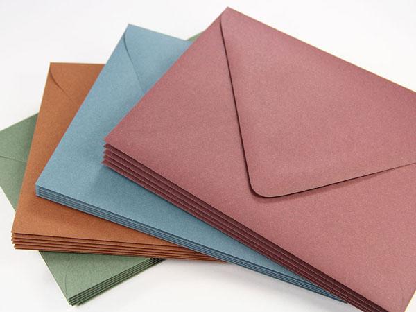 Designer Euro Flap Envelopes, Amazing Colors | LCI Paper