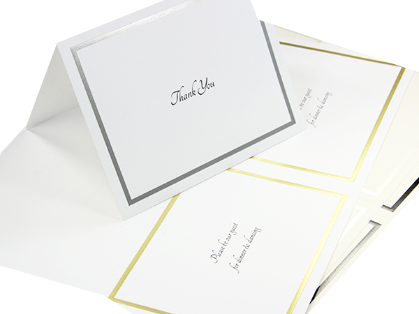 foil blank cards printable 2up lci paper