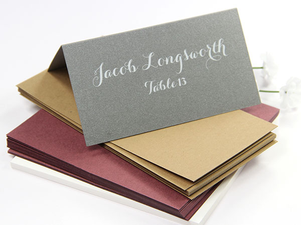 product photos 1 - Folded Place Cards