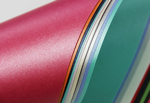 Metallic card stock paper pearlescent shimmer paper for Craft paper card stock