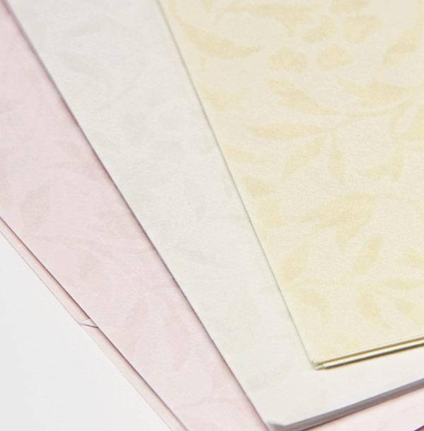 sukashi lt pink paper 8 1 2 x 11 floral vellum 30lb translucent