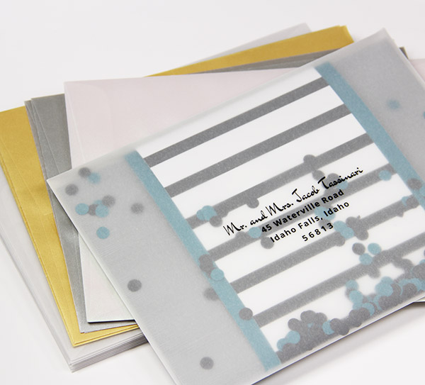 Translucent Envelopes | Vellum A2 & A7 Envelopes