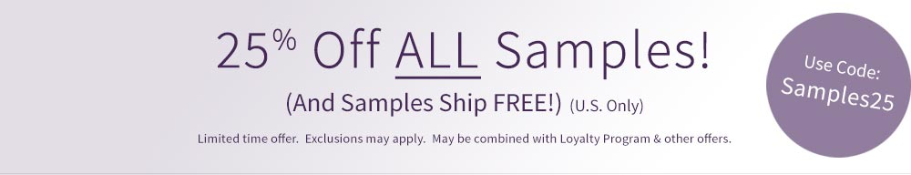 Save 50% on all samples at LCI Paper